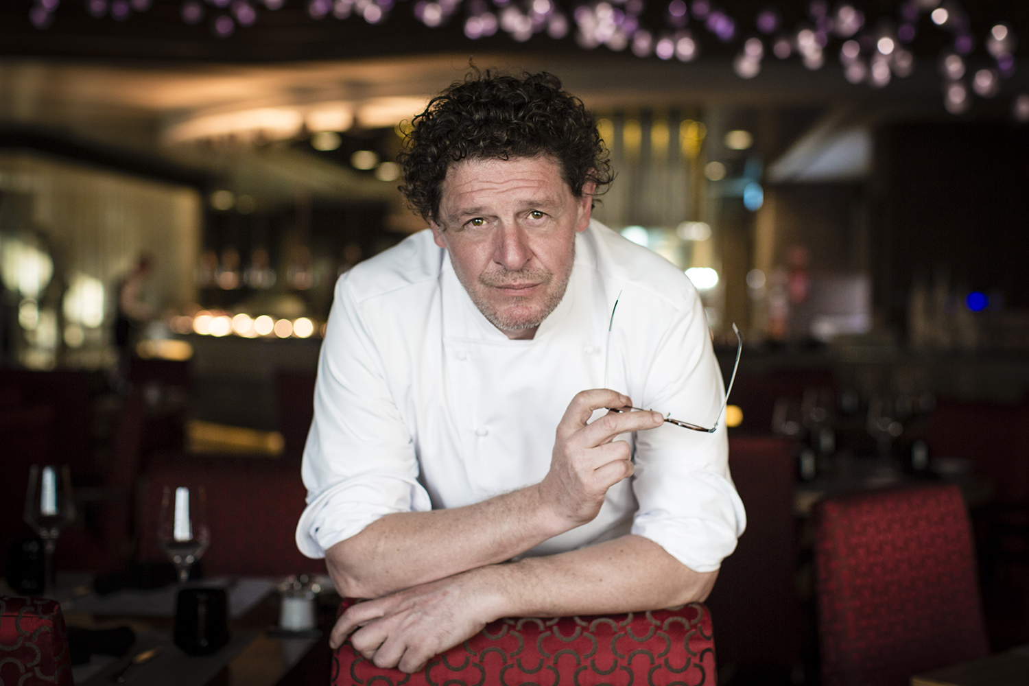 Dubai Chef Marco Pierre Portrait by Red Tail Media