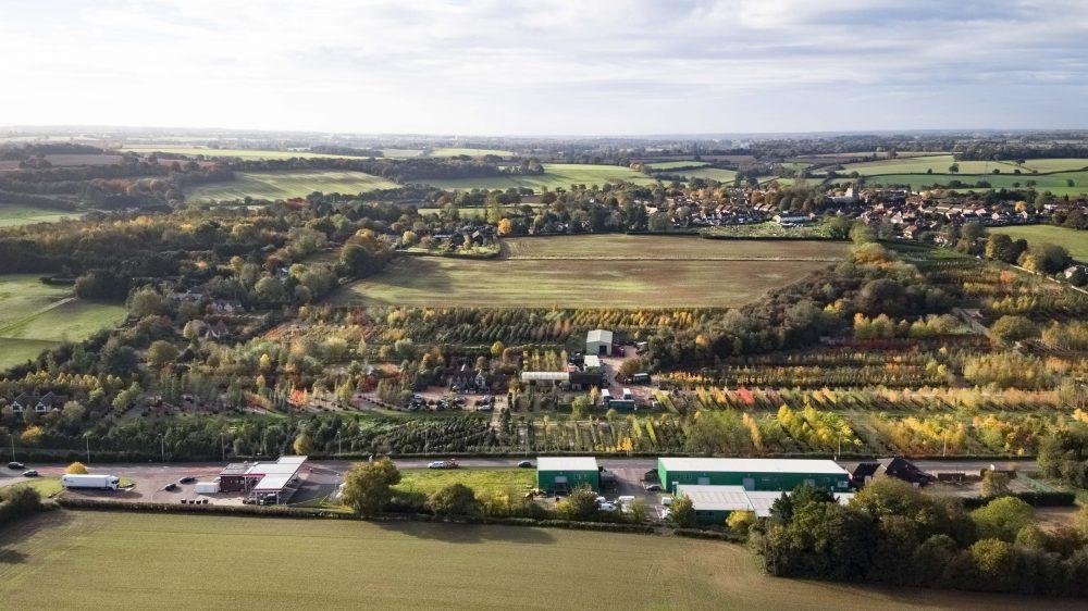 aerial photography Hertfordshire